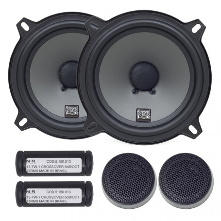 "Kit 2 Vias 5"" NAR Audio 525-CS-1 PP - 100 Watts RMS"